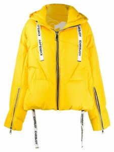 Khrisjoy hooded puffer jacket - Yellow
