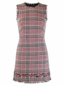 Paule Ka sleeveless tweed dress - Blue