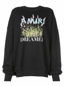 Amiri dreamer sweatshirt - Black