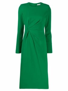 P.A.R.O.S.H. gathered fitted dress - Green