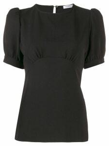 P.A.R.O.S.H. puff sleeve blouse - Black