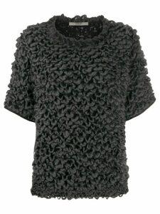 Odeeh knitted wool top - Grey