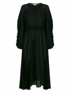 Rochas flared dress - Black