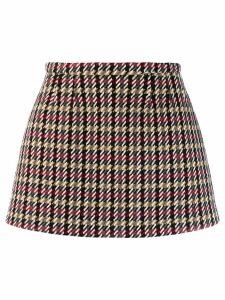 Red Valentino REDValentino tweed mini skirt - Black