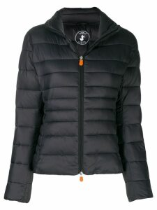 Save The Duck zipped padded jacket - Blue