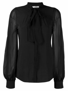 Dorothee Schumacher pussy bow blouse - Black