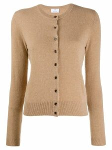 Allude fine knit cardigan - Brown