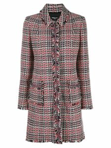 Paule Ka tweed coat - Red
