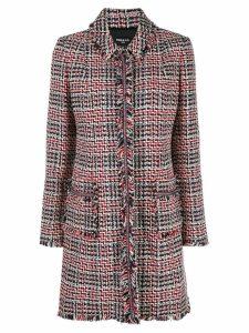 Paule Ka tweed coat - Red