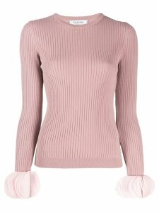 Valentino ribbed jumper - Pink