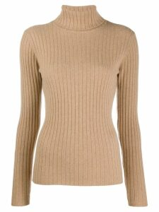 Allude ribbed sweatshirt - Brown