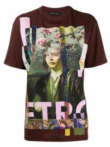 Etro printed T-shirt - Red