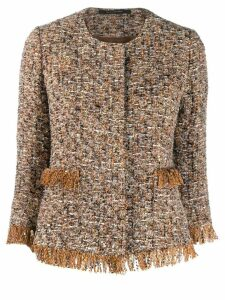 Tagliatore Milly tweed jacket - Neutrals