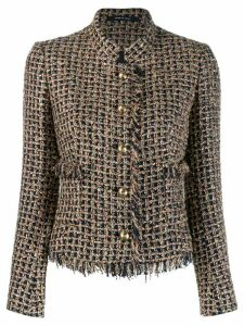 Tagliatore Nikole tweed jacket - Blue