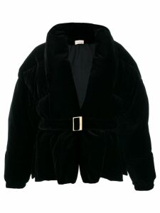 Alexandre Vauthier padded casual coat - Black
