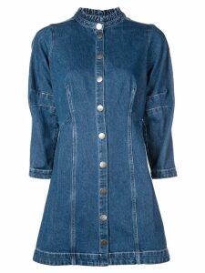 Sea tailored jean dress - Blue
