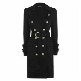 Balmain Buttoned Trench Coat