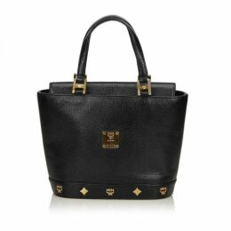 MCM Black Leather Handbag