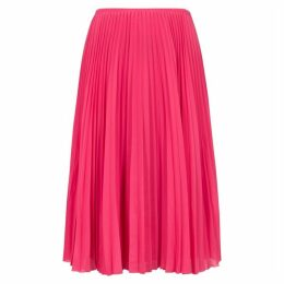 Samsøe & Samsøe Juliette Pink Pleated Midi Skirt