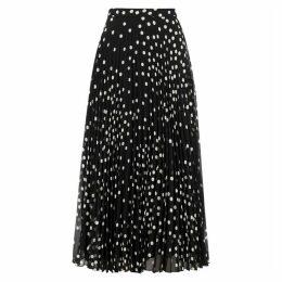 Stella McCartney Alpha Polka-dot Chiffon Maxi Skirt