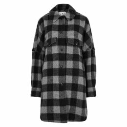 Woolrich Buffalo Checked Wool-blend Jacket