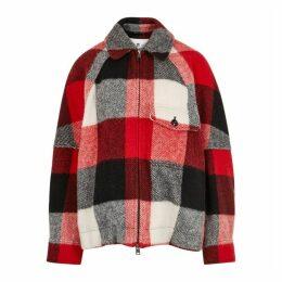 Woolrich Buffalo Checked Wool-blend Jacket