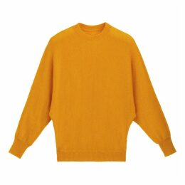 Fine Knit Jumper with Batwing Sleeves