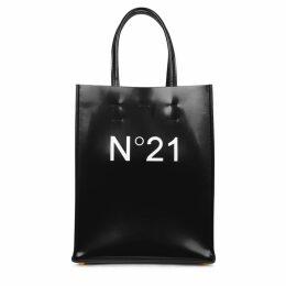 No.21 Sacchetto Black Leather Tote Bag