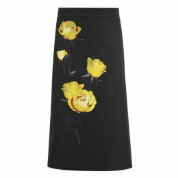 Prada Floral Skirt