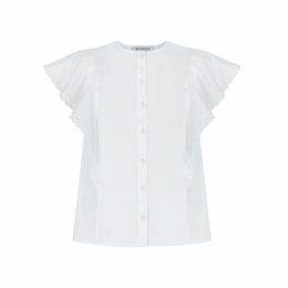 Nissa - Silk & Lace Mini Dress