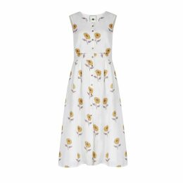 Em & Shi - Sunflower Hand Block Dress