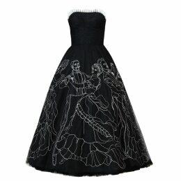 Em & Shi - Sunflower Hand Block Strap Dress