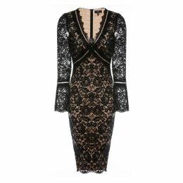Nissa - Bodycon Lace Dress