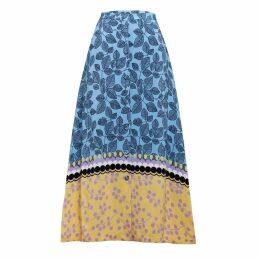 Emily Lovelock - Leaf Print Skirt