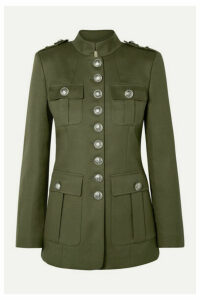 Michael Kors Collection - Cotton-twill Jacket - Army green