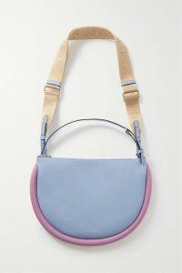 Peter Do - Asymmetric Pleated Voile Wrap Mini Skirt - Gray
