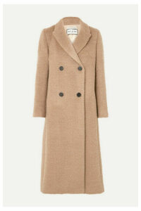 Paul & Joe - Double-breasted Brushed-felt Coat - Camel