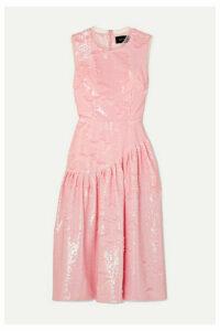 Simone Rocha - Frame Sequined Tulle Midi Dress - Pink
