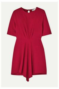 IRO - Demeteros Draped Crepe Mini Dress - Fuchsia