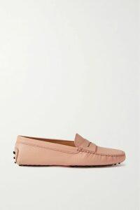 Self-Portrait - Pleated Grosgrain-trimmed Chiffon Maxi Dress - Forest green
