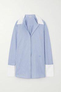 IRO - Thorn Ruched Floral-print Crepon Mini Skirt - Fuchsia