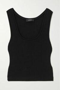 Eywasouls Malibu - Cora Tiered Printed Chiffon Maxi Dress - Tomato red
