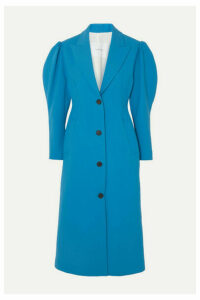 Pushbutton - Crepe Coat - Blue
