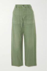 Dries Van Noten - Darette Floral-print Silk Crepe De Chine Midi Dress - Dark gray