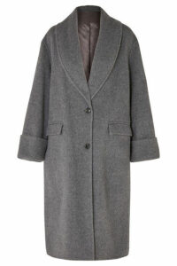 Joseph - Kara Wool And Alpaca-blend Coat - Gray