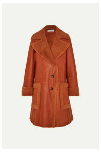 Chloé - Shearling Coat - Orange