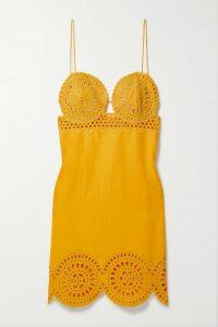 Cushnie - Draped Silk-satin Dress - Red