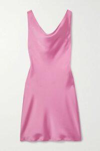 Reformation - Harley Floral-print Crepe Halterneck Midi Dress - Forest green