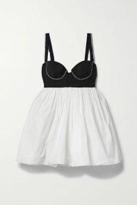 Zimmermann - Espionage Pussy-bow Leopard-print Silk-georgette Mini Dress - Brown