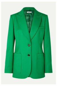 Bella Freud - Saint James Wool-twill Blazer - Green